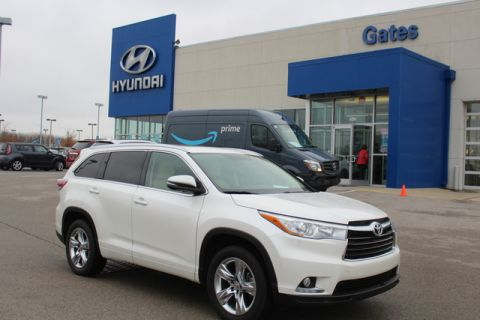 2015 Toyota Highlander Limited-FWD w/Sunroof-Navi-Leather